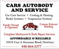 Cars Autobody and Service Inc
