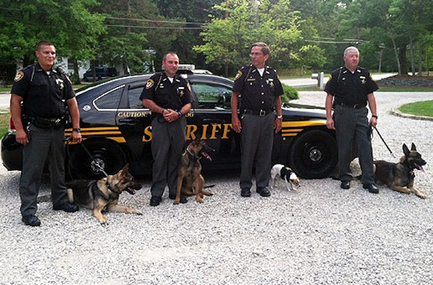 Geauga County Sheriff's Office K9 Handlers 2012