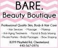 BARE. Beauty Boutique
