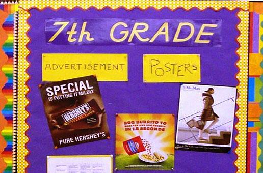 Art Education 7th Grade Poster