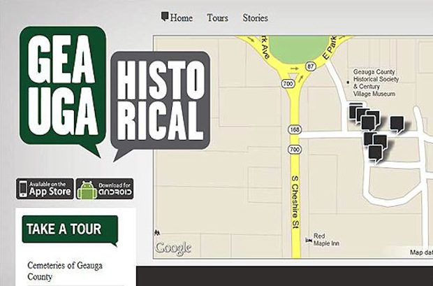 Geauga Historical Mobile App