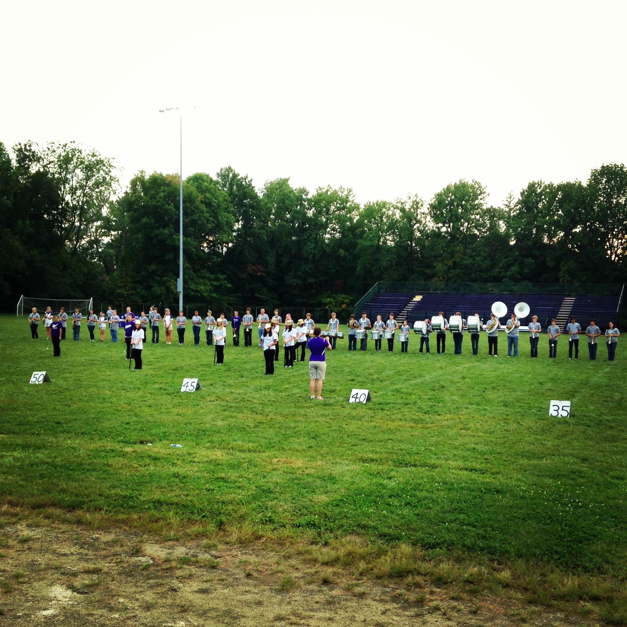 Marching Band Marching