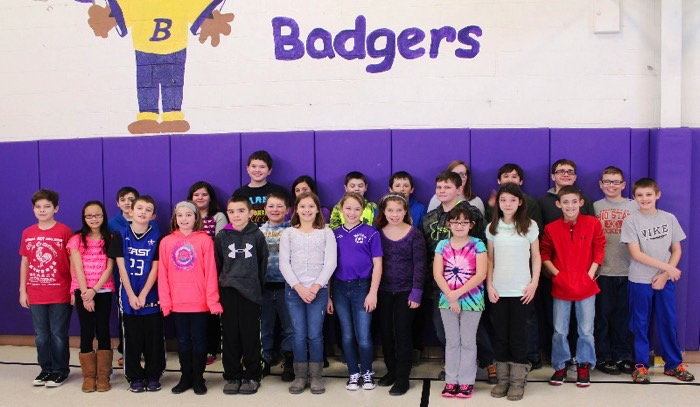 Berkshire Group Spelling bee participants