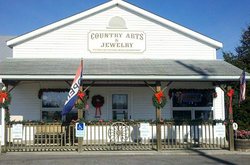 Country Arts store front