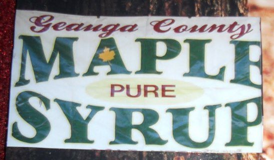 Geauga County Pure Maple Syrup