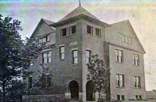 Old Huntsburg High School