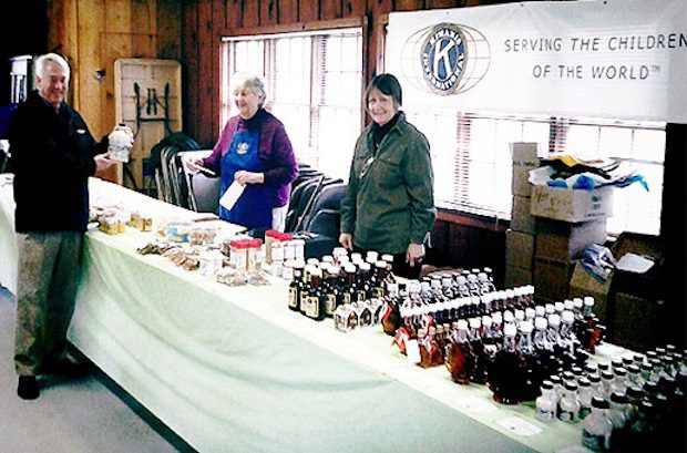 Kiwanis Maple Sales