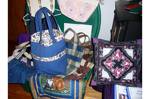 Open House Quilted Bags