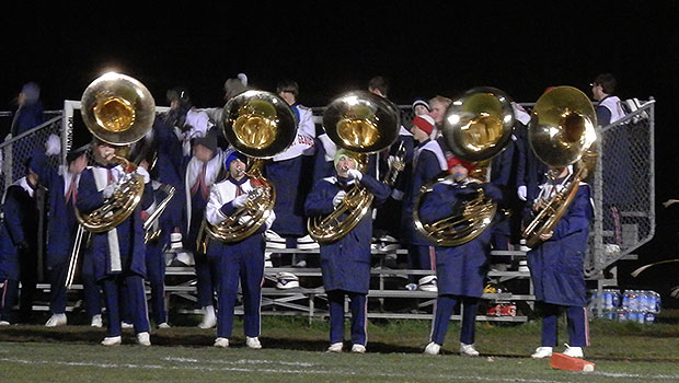 West Geauga Wolverines marching band