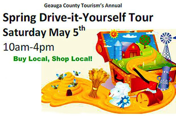 Geauga Tourism Spring Drive it Yourself Tour