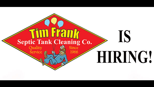 Tim Frank Septic is hiring