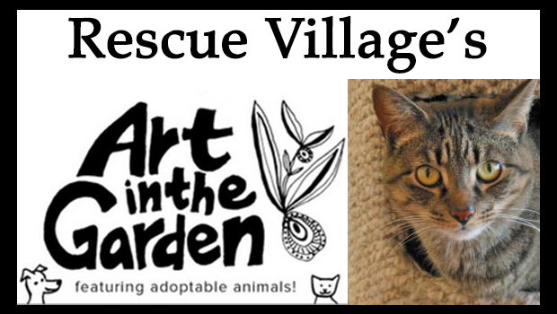 Art in the garden at rescue village geauga news for 10 west salon chagrin falls
