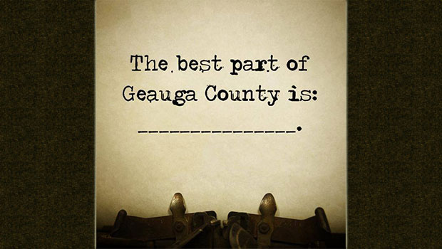 The Best Part of Geauga County is...