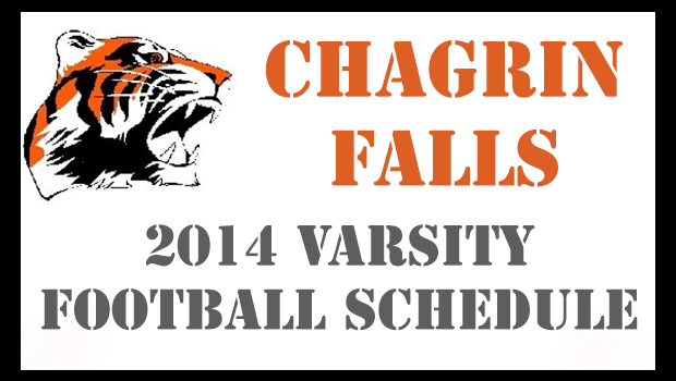 Chagrin Falls 2014 Varsity Football Schedule