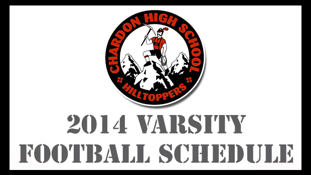 Chardon 2014 Varsity Football Schedule