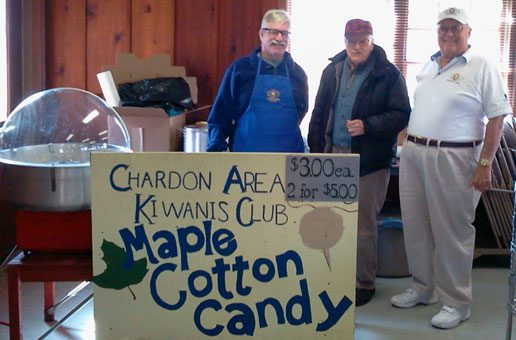 Kiwanis Ready for another Year of Maple Syrup