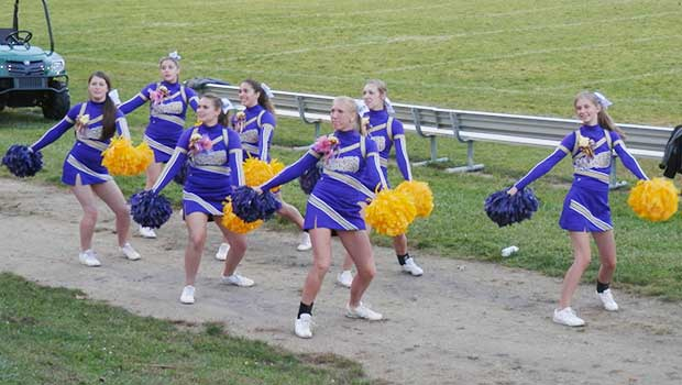 Berkshire Varsity Cheerleaders