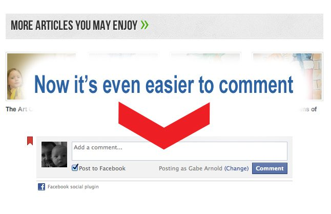 Commenting Just Got a Lot Easier
