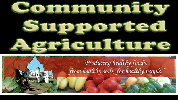 CSA - Community Supported Agriculture