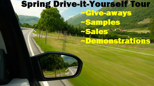 Spring Drive-it-Yourself Tour