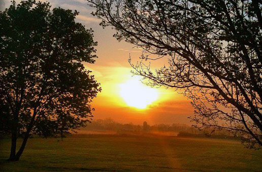 Sunrise in Geauga County