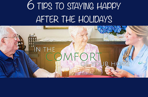 6 tips to staying happy after the holidays