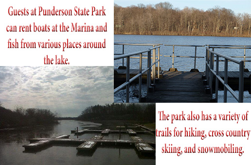 Fishing at Punderson State Park
