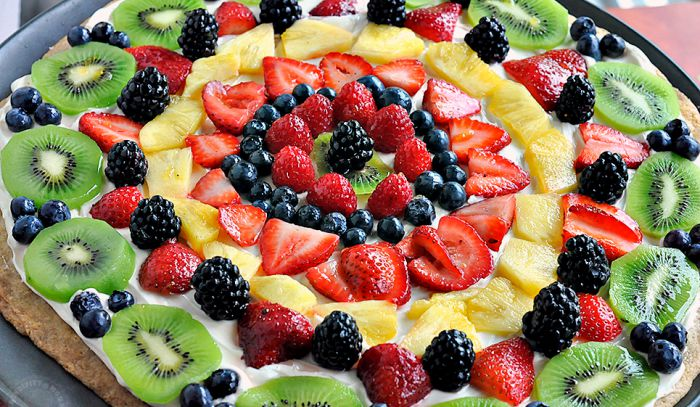 Itu0027s Time For Some Light, Fruity Desserts. This Fruit Pizza Is Just That!  Check It Out!