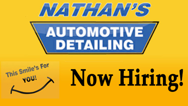 Nathan's Automotive Detailing is Hiring!