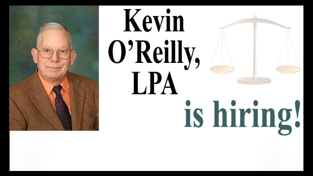 Kevin O'Reilly is hiring
