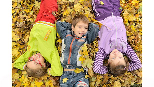 Kids in the Fall