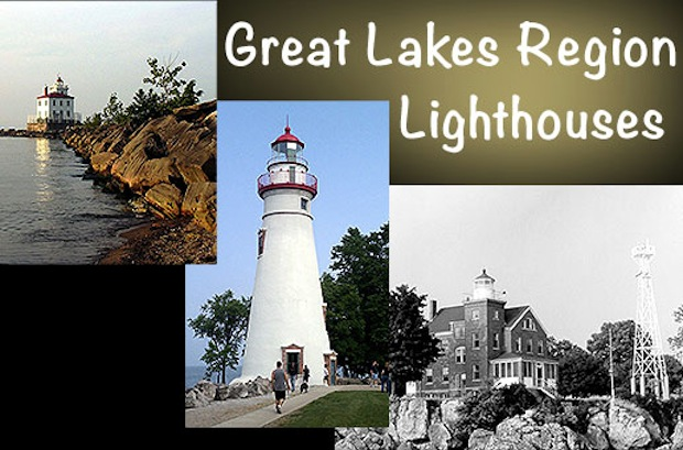Great Lakes Region Lighthouses