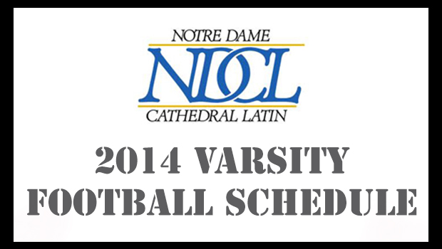 NDCL 2014 Varsity Football Schedule