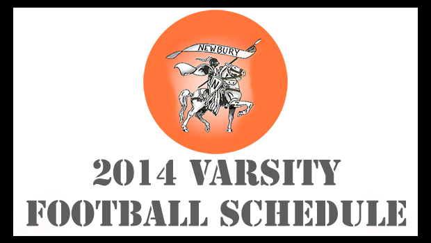 Newbury 2014 Varsity Football Schedule