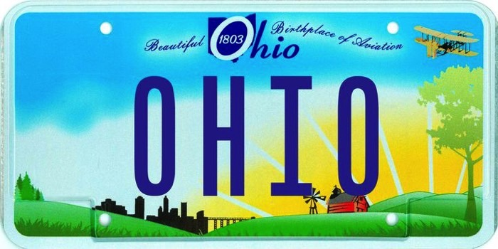 ohio license plate FB