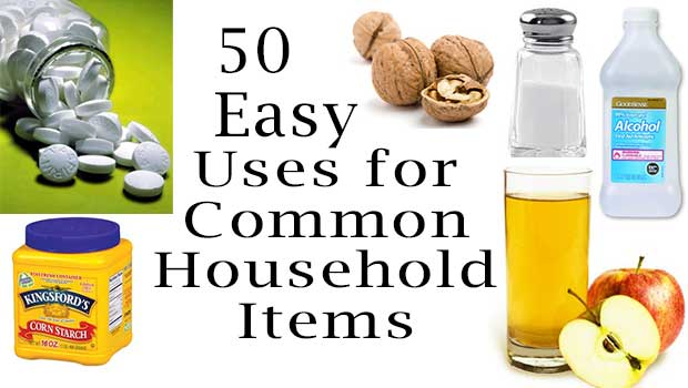 50 Easy Uses for Common Household Items
