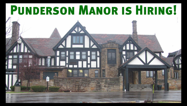 Punderson Manor is hiring