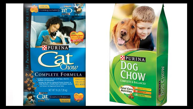 purina cat and dog food