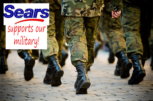 Sears supports our military