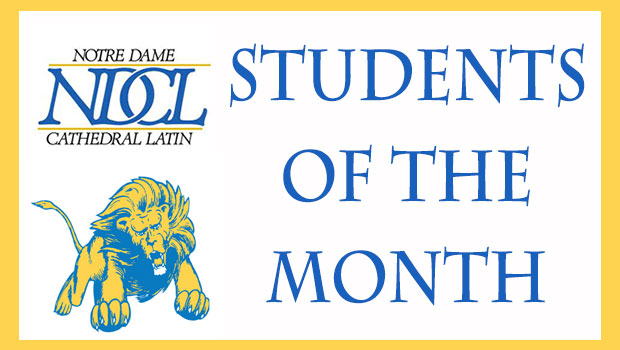 NDCL Students of the Month