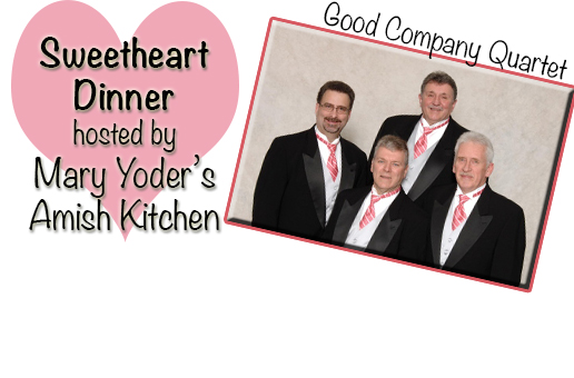 Sweetheart Dinner at Mary Yoder's Amish Kitchen