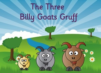 Image result for the 3 billy goats gruff pictures