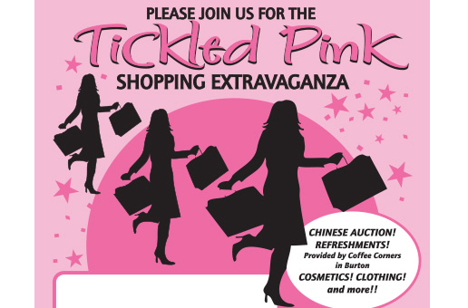 Tickled Pink shopping flyer